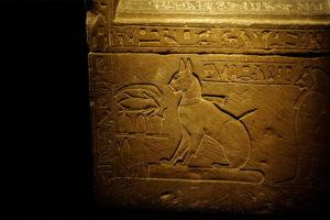 Изображение кошки в древнем египте