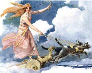 богиня фрея