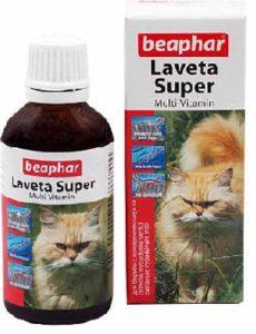 витамины Beaphar Laveta Super для кошек